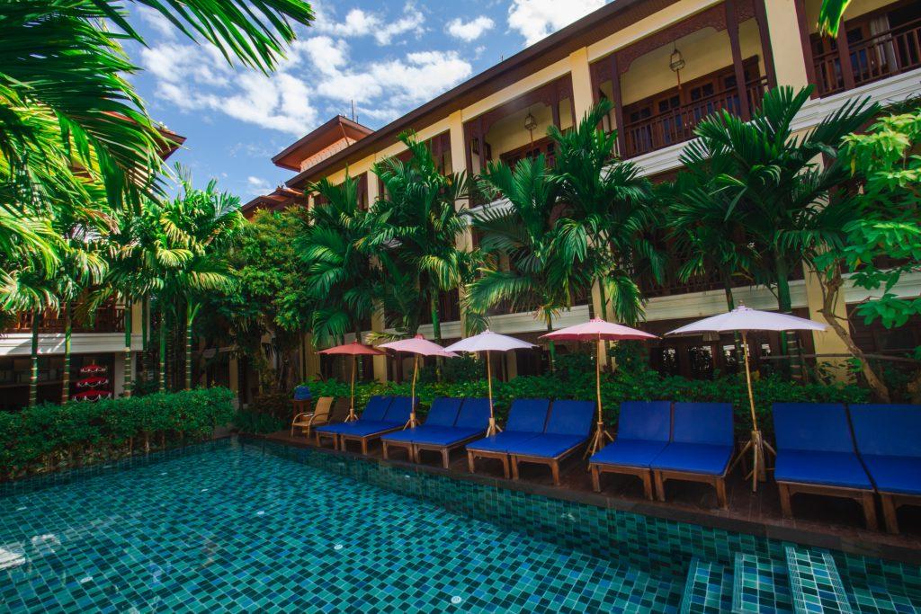 Chiangmai pool hotel